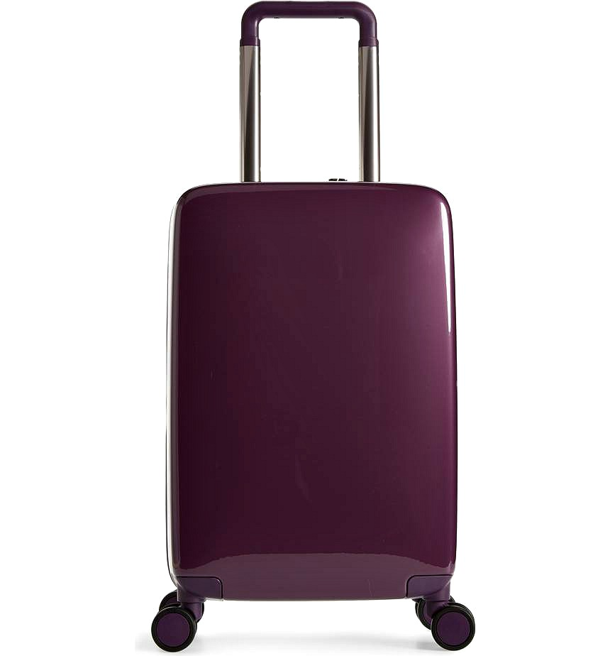 The A22 22 Inch Charging Wheeled Carry-On Suitcase