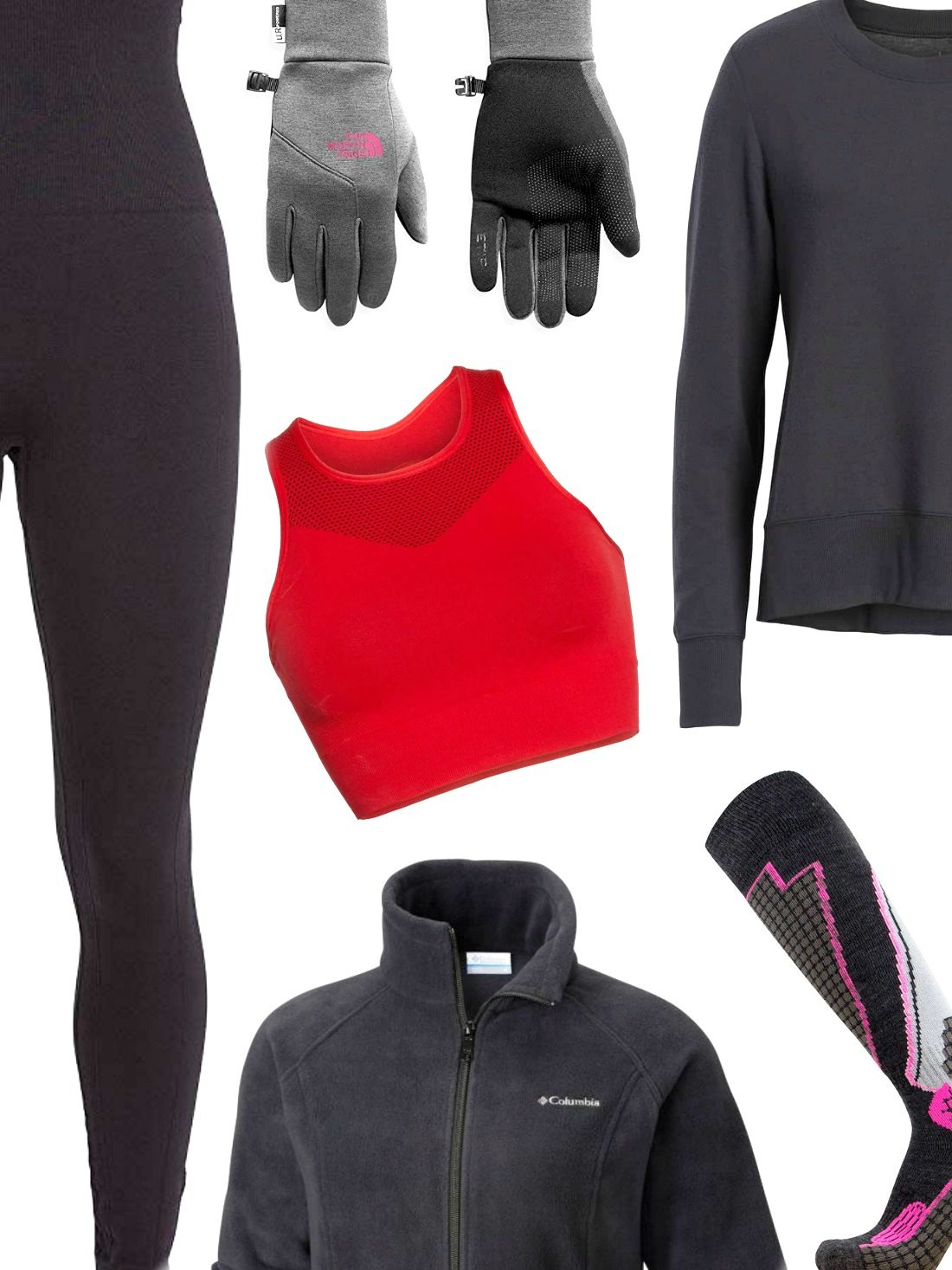 It takes two to tango, you don't layer up, you don't warm up! Likewise, we have laid out our best winter workout gear to get you motivated not for the runs alone but when you're bummed out with the cold!