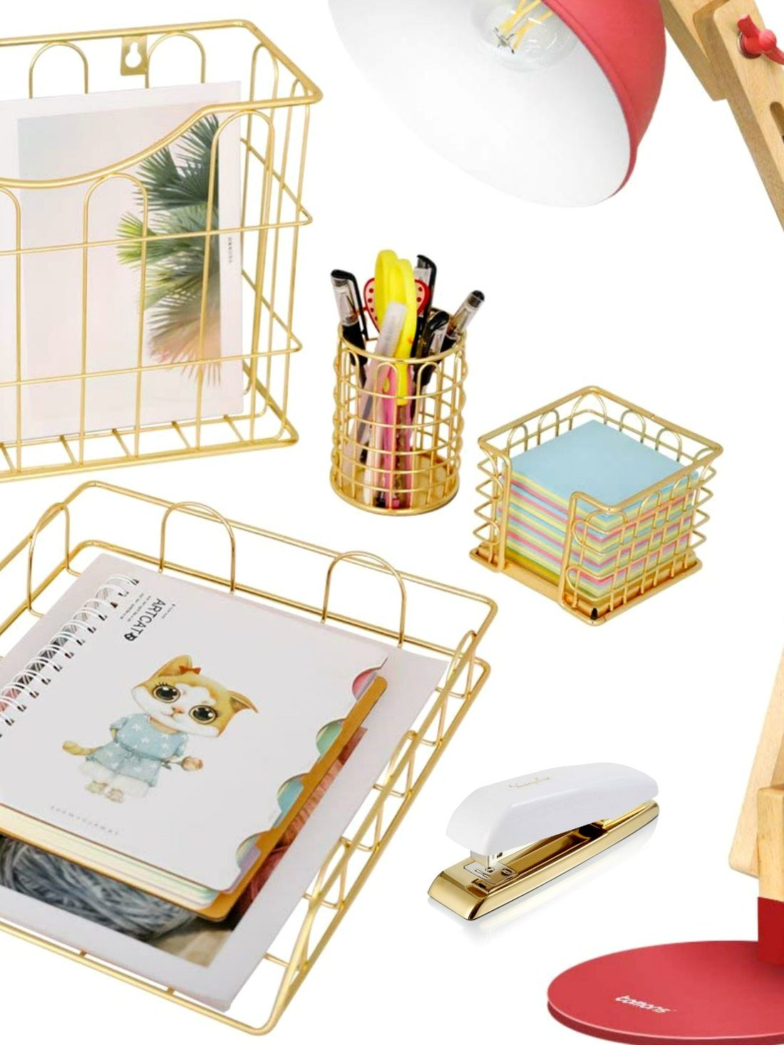 We have outlined everything from the cool meets simple yet something that's modern in our list of the best desk accessories for women. Want to know the secret to make your office look nice? Check out this post!