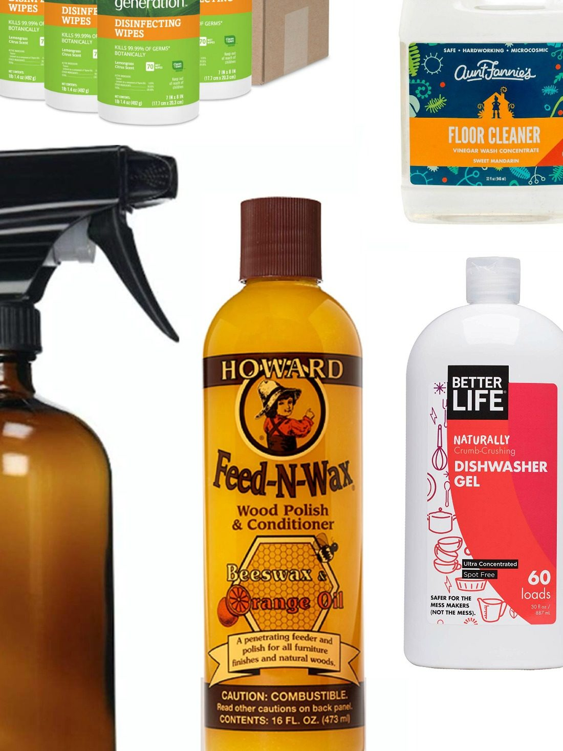 Cleaning: it's a chore --- no getting around that! Exposing yourself and your family to chemicals makes cleaning even worse. Why clean if you're adding chemicals to your environment? Make the switch and wipe the slate clean! Here's our list for the best chemical free cleaning products!