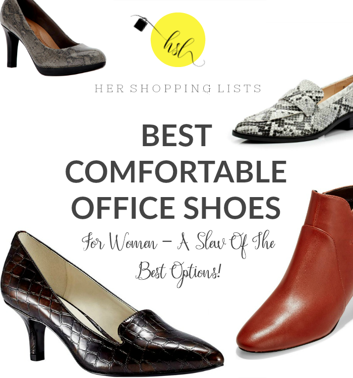 Comfortable Office Shoes For Women A