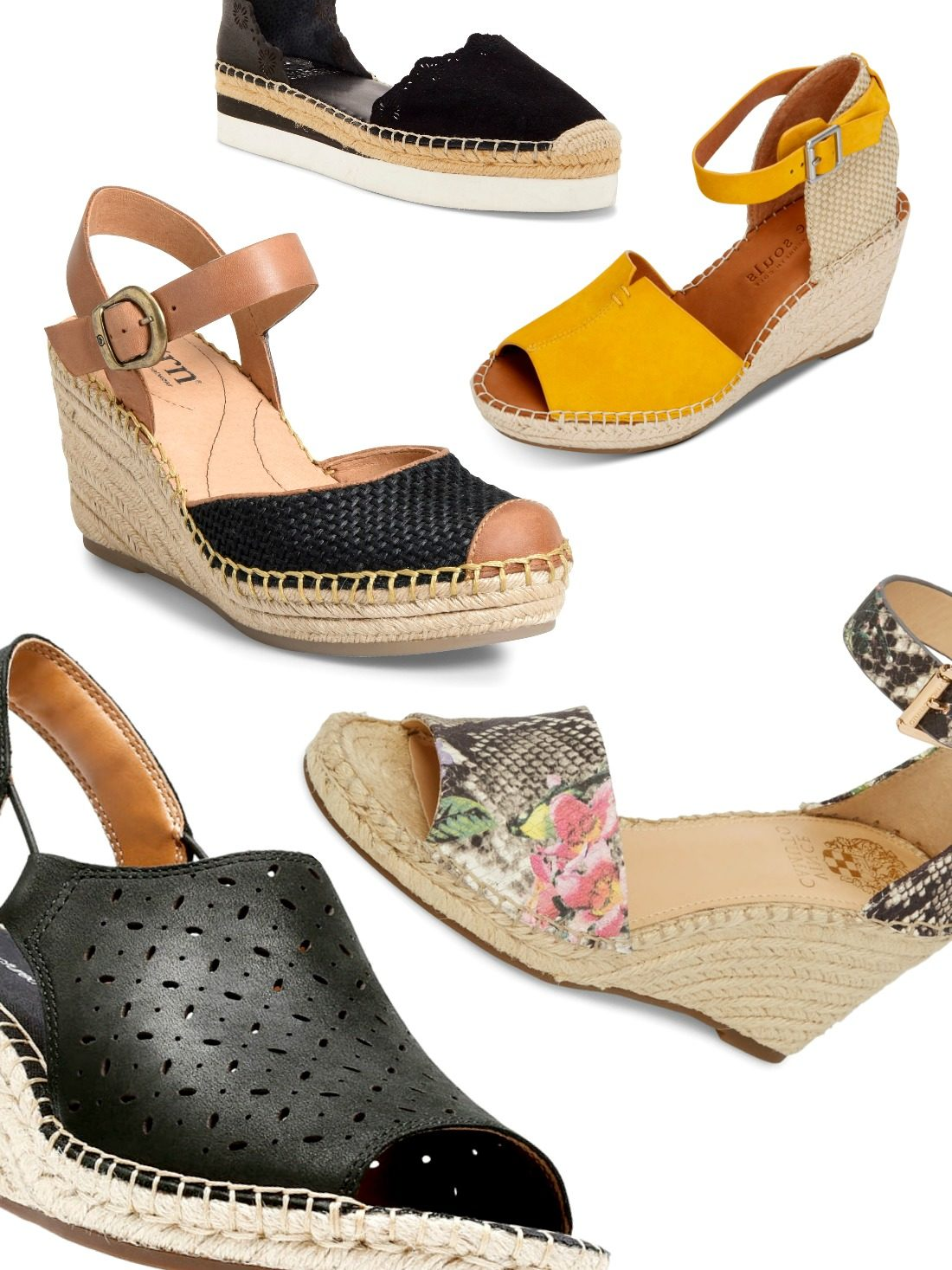 When Summer is ahead, why not deliver a collision with some dapper warm-weather shoes? Our list of the best cute womens espadrille wedges packs the perfect punch to be comfy, sassy, and trendy all at the same time!