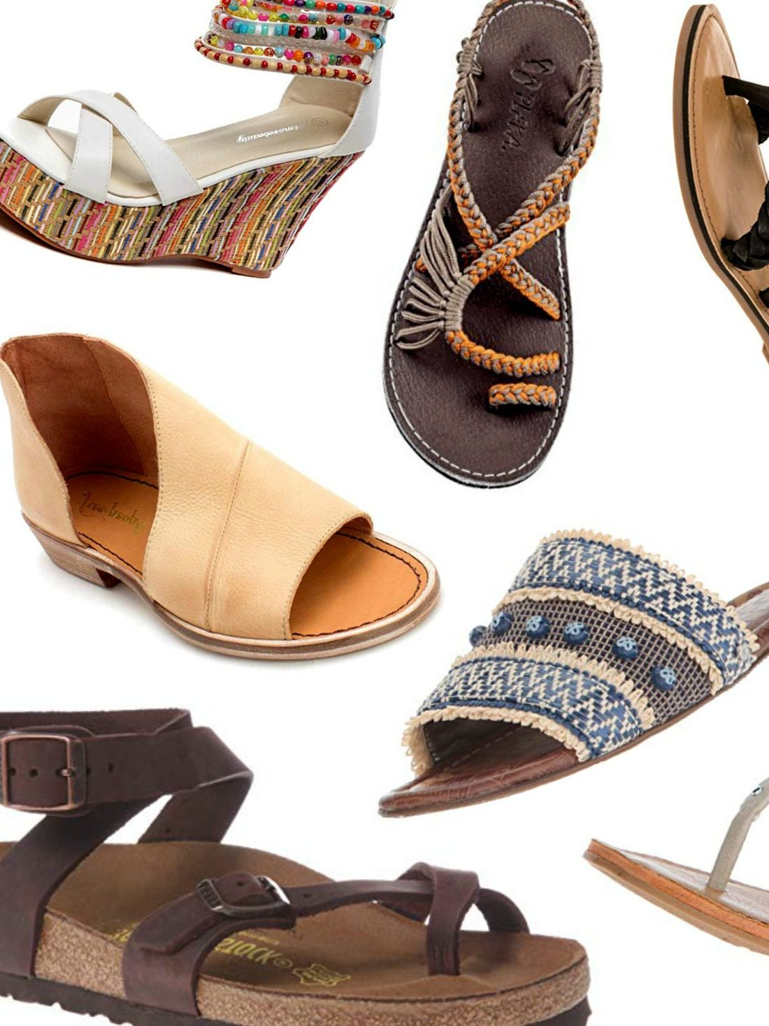 Make Summer a Bohemian affair with our list of the best boho sandals. From chic to comfy to extra preppy, we've got you covered!