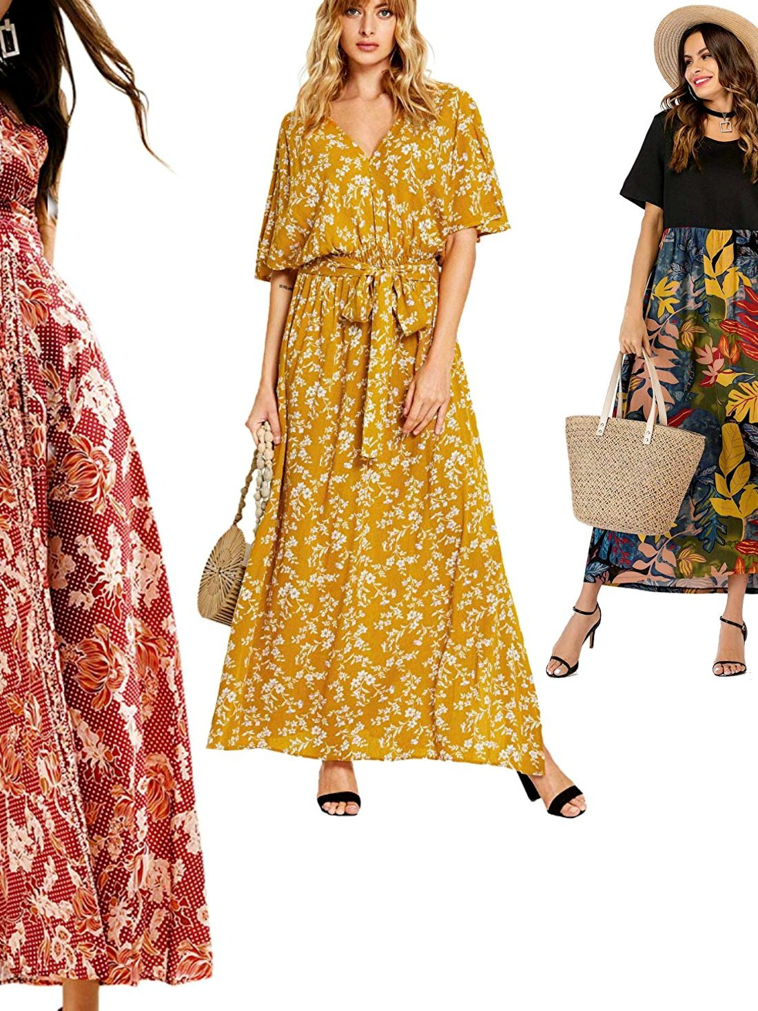 Undecided over your Summer outfit? Grab one floral maxi dress from our list of 12 selected best and get ready for Summer in style! Cuteness + floral + long length: you'll be a total convert - trust us!
