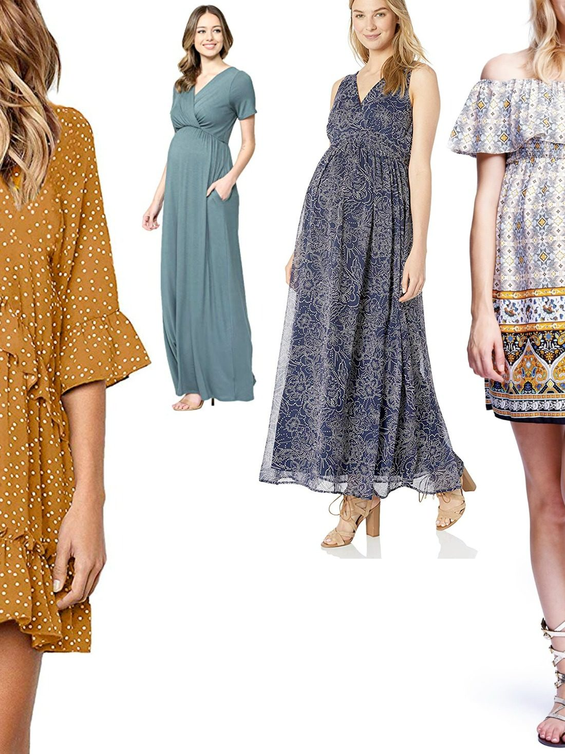 We know you love to buy all the maternity wear yourself but sometimes you end up making more mistakes than sensible choices. Our list of the best maternity dresses for summer contains heavy hitters of this season.  Worth checking out!