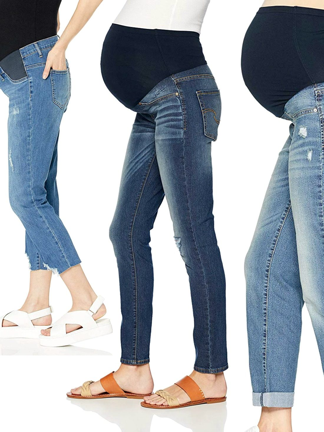 Wondering how to fill the gap between comfort and style and make motherhood fashionable? Find out how with our list of the best maternity jeans. Dive in and add them to cart!