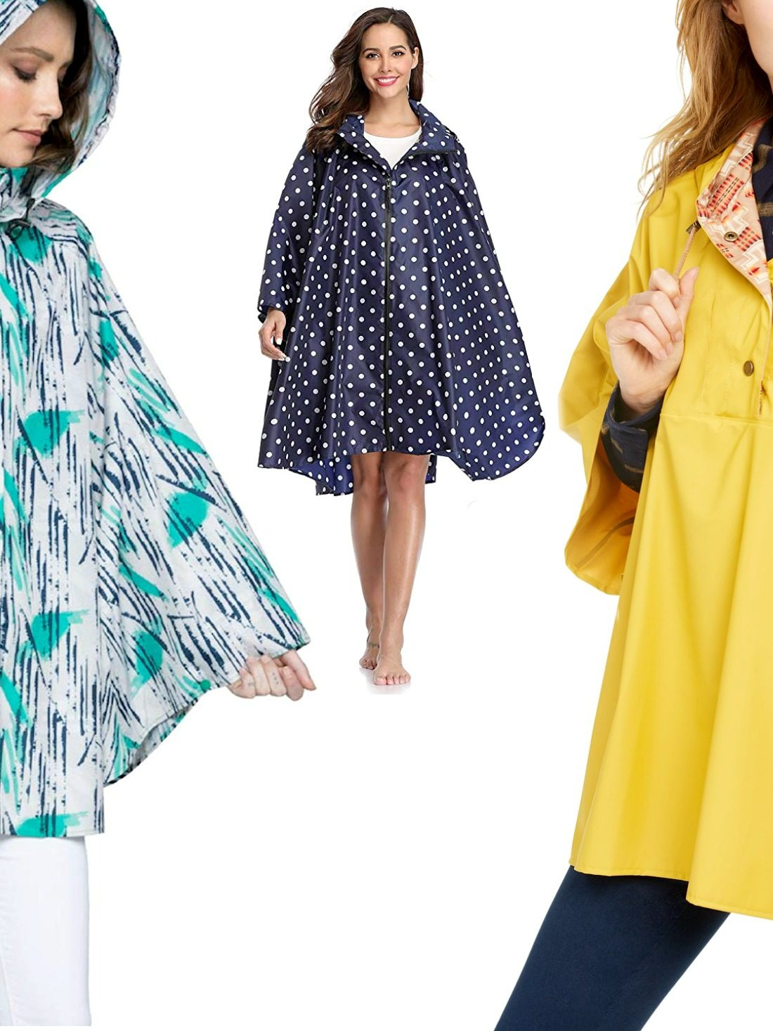 Once you'll start wearing these best rain poncho for women from our list — You'll be a total convert!