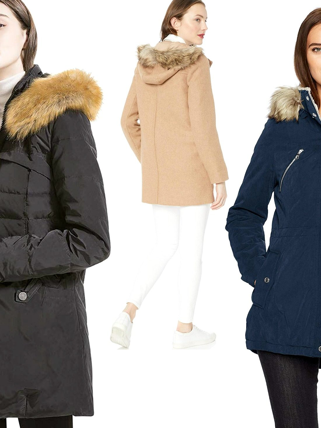 The warmth provided by these best womens parka coats with fur hood is only one side of the story. The real deal starts with their looks. You're in for a surprise!