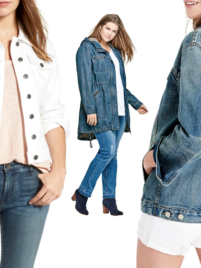 If cardigans don't cut it for you, give our best selects a go from these denim jacket women options. These styles are exactly what your closet needs right now!