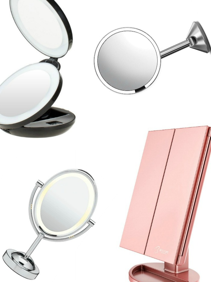 Find the best makeup mirror with lights from bestsellers that will make your makeup application as straightforward as possible. These products are perfect for everyone!