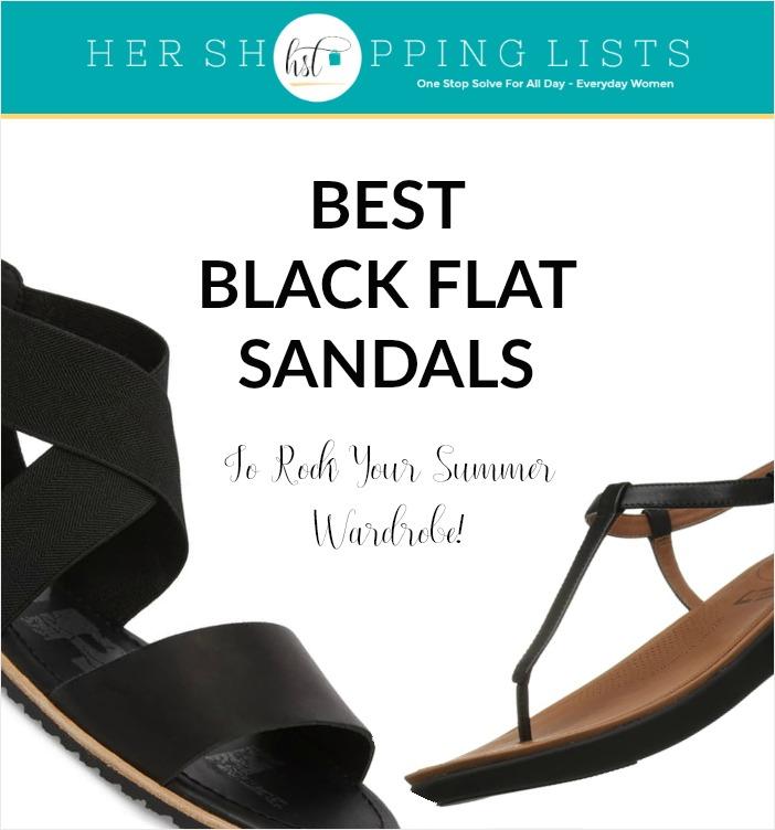 best-womens-black-flat-sandals