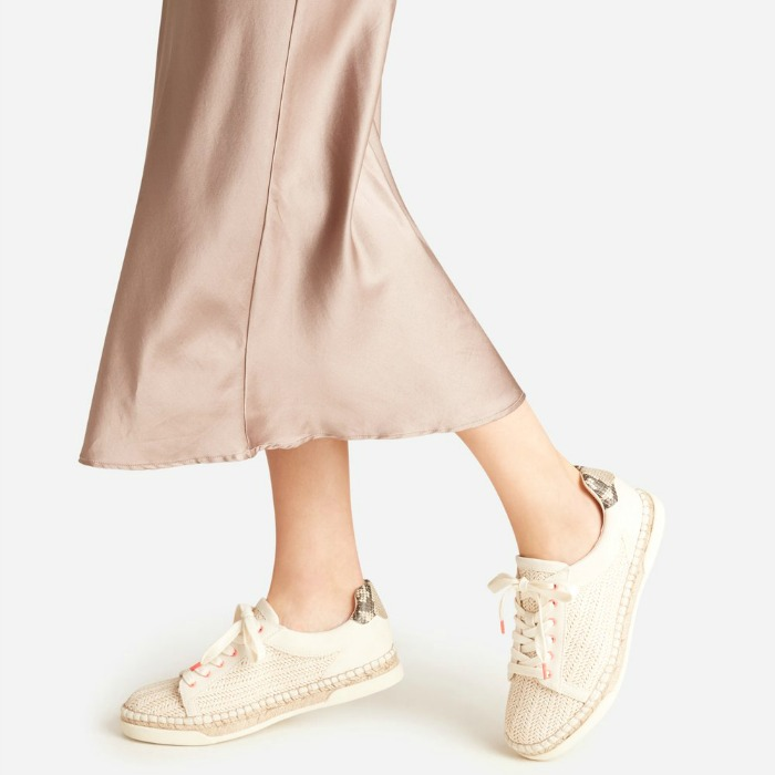 The espadrille season is finally here! They are easier on your feet, and the best womens espadrille sneakers we've found are so much chicer than before! Check them out!